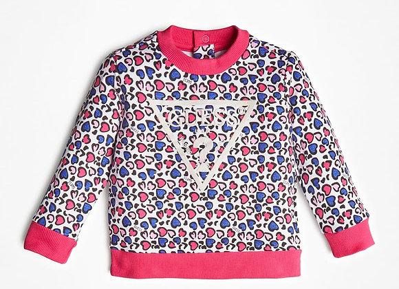 Guess cheetah sweatshirt