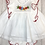 Thumbnail: Popys Emma Baby girl cheesecloth dress with pants