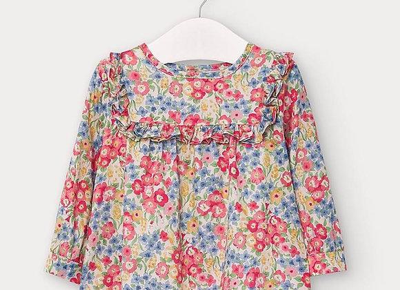 Mayoral floral blouse