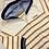 Thumbnail: Mayoral baby boy caramel stripe hoodie
