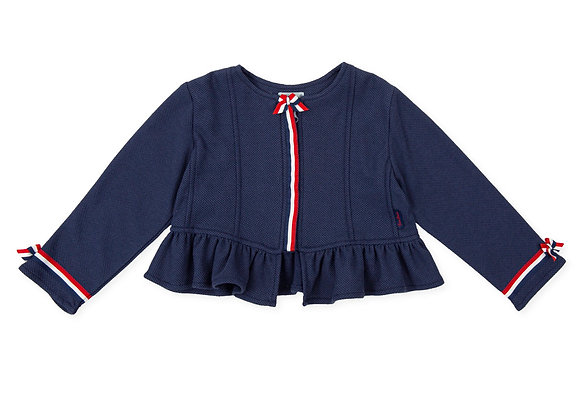 Tutto Piccolo Girls Cropped Jacket