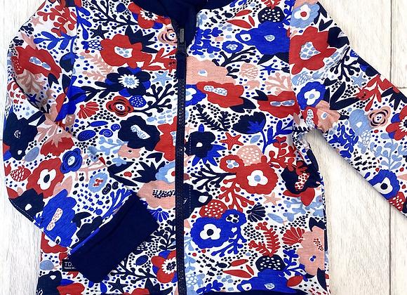 Terre de Marins floral jacket