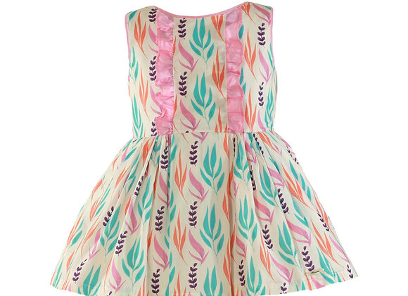 Miranda Girls Flamingo Dress