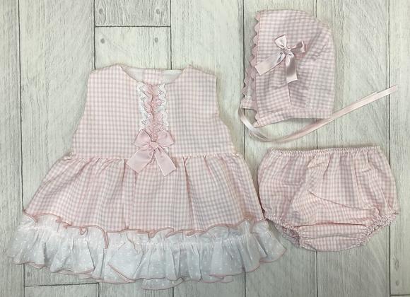 Eva Dorothy baby girl dress set
