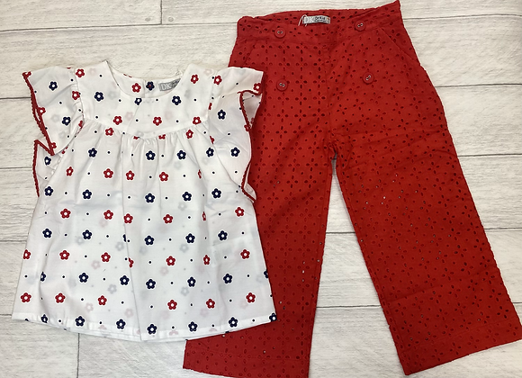 Dr Kid Nancy top and trousers set