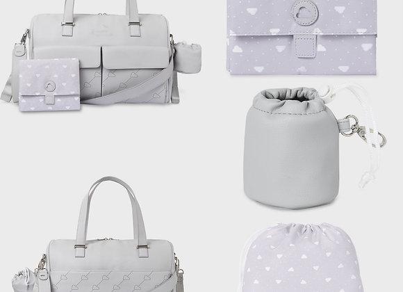 Mayoral grey baby change bag