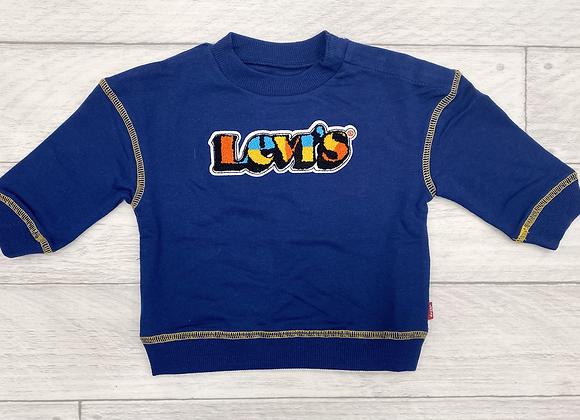 Levi's Baby Boys Blue Sweatshirt
