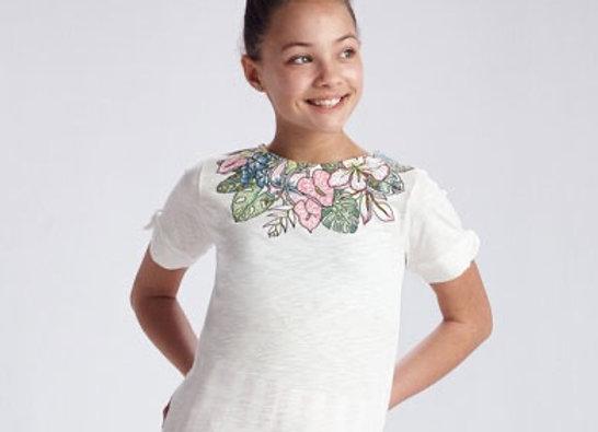 Mayoral teen flower top