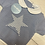Thumbnail: Juliana blue star knit romper set
