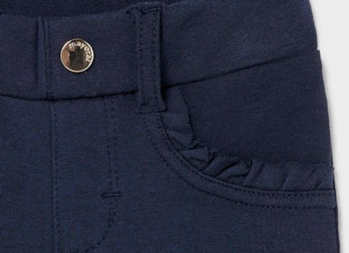 Mayoral baby girl basic navy trousers