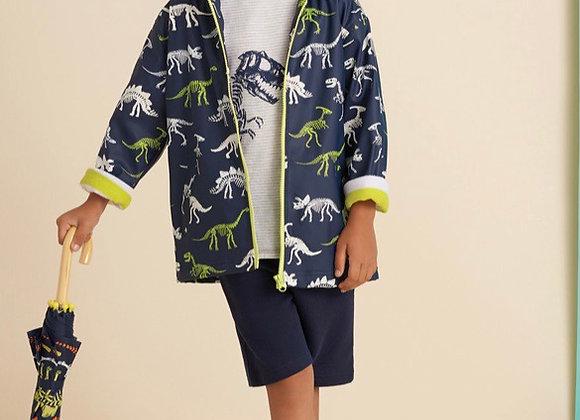 Hatley Dino Colour changing raincoat