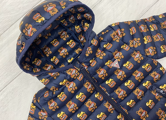 Guess baby boy teddy puffer coat