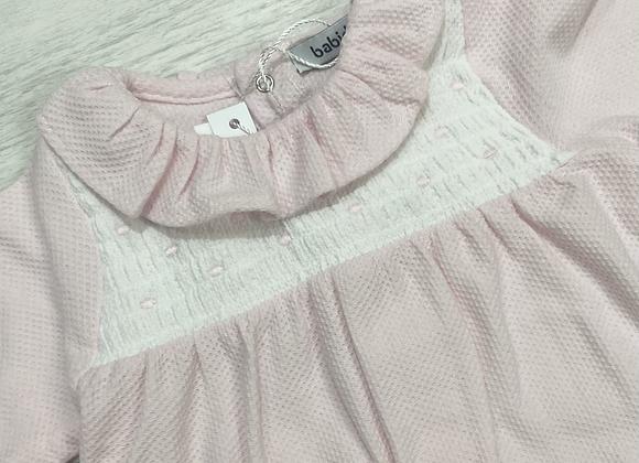 Babidu Polly pink babygrow