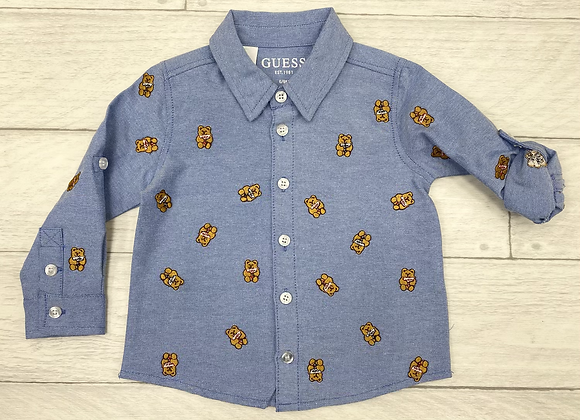 Guess Baby Boys Teddy Bear Shirt