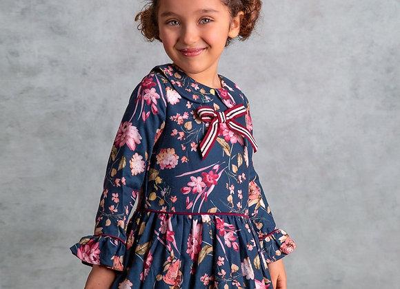 Rochy floral collar dress