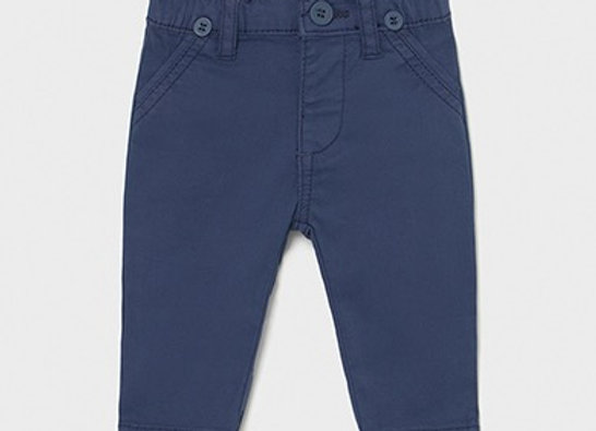 Mayoral baby boy navy trousers with braces