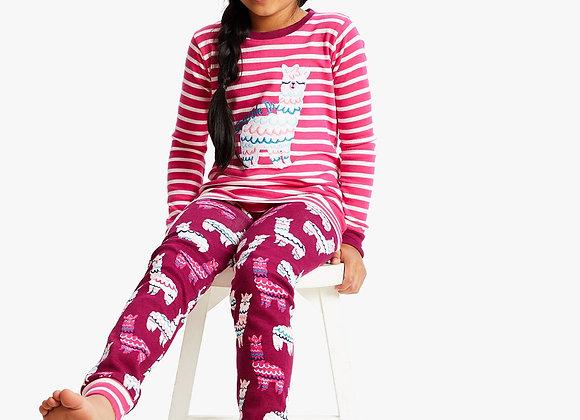 Hatley Girls Alpaca Pyjamas