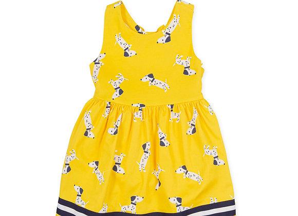 Tutto Piccolo Girls Dog Dress