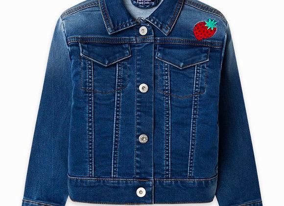 Tuc Tuc Sweet Strawberry denim jacket