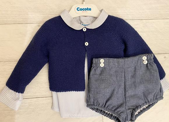 Cocote baby boy three piece set