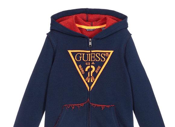 Guess boys zip up hoodie