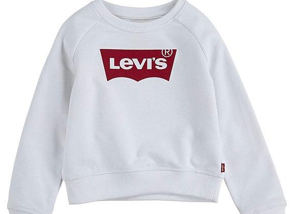 Levi's girls white sweatshirt