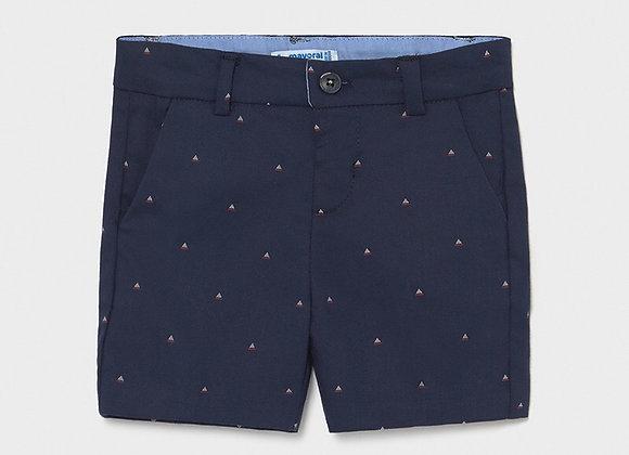 Mayoral boys jacquard shorts