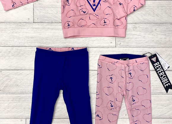 Guess two piece reversible set