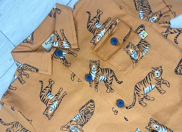 Frugi Rupert Tiger Jersey Shirt