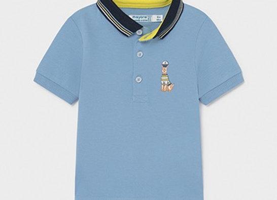 Mayoral boy dog sailor t-shirt