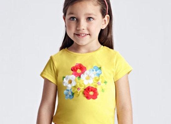 Mayoral Girls flower top