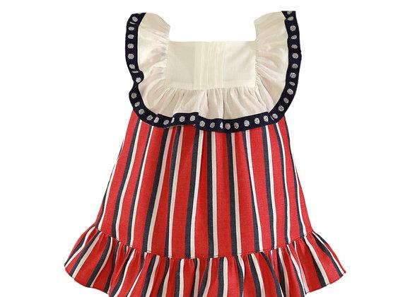 Miranda baby girl stripe dress