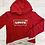 Thumbnail: Levi girls red hoodie