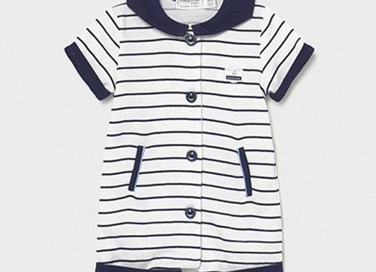 Mayoral baby boy stripe romper