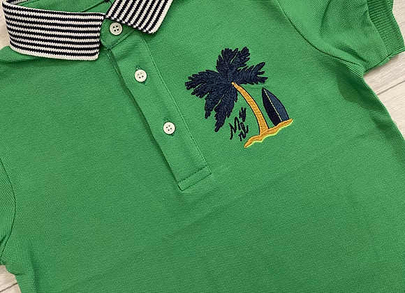 Mayoral boys palm polo t-shirt