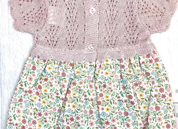 Popys Grace Ditsy Print Knit Dress
