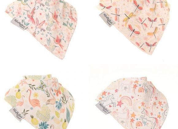 Ziggle Pattern Boutique Bib Set by Katie Phythian Design