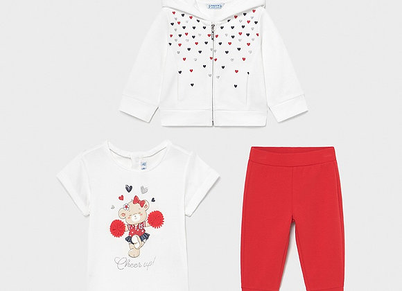 Mayoral girls there piece tracksuit set