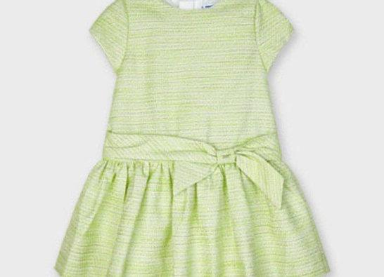 Mayoral pistachio bow dress