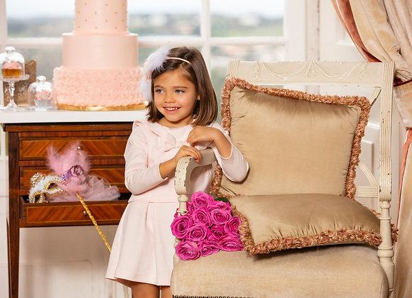 Patachou bow pink dress