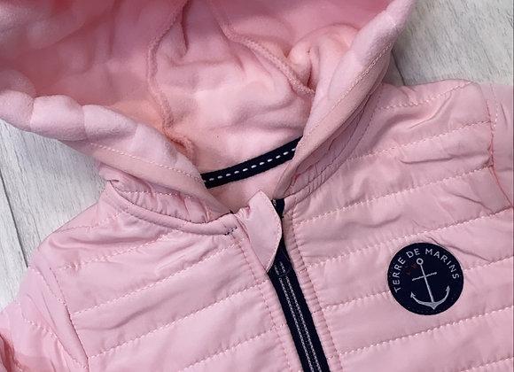 Terre de Marins pink padded coat