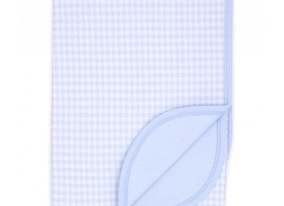 Rapife Blue Check Blanket