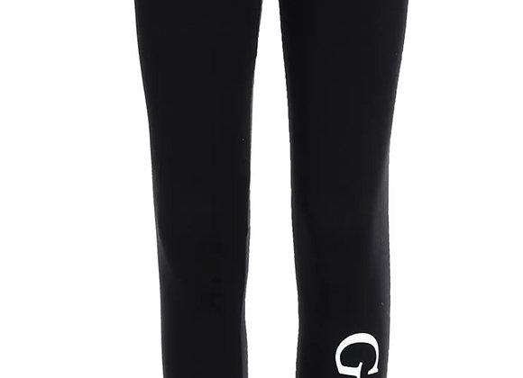 Guess girls black leggings