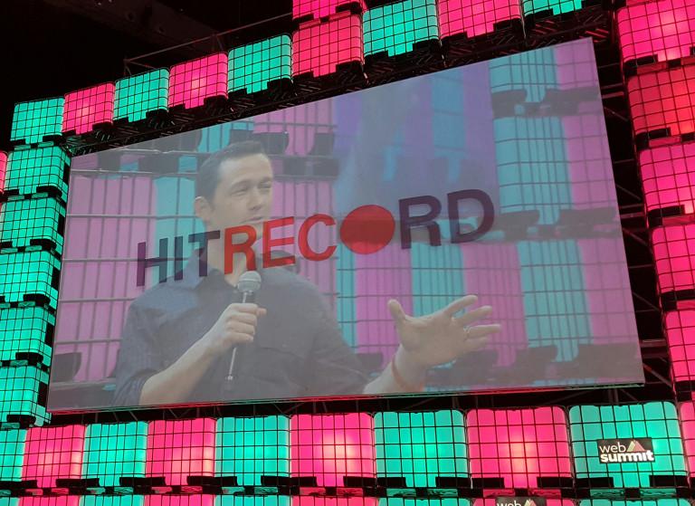 Joseph Gordon-Levittin HitRECord-yhtiö tekee joukkoistettua yhteistyötä netissä.
