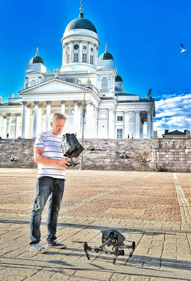Drone-kuvaaja Jouko Tapper