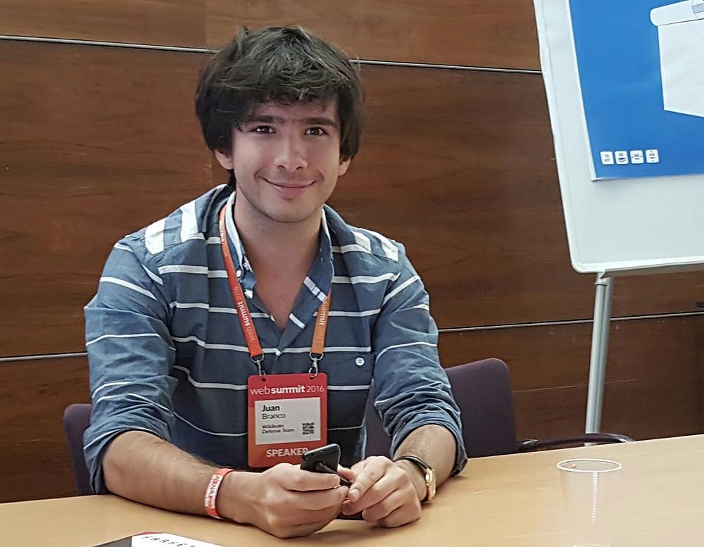 Juan Branco on yksi neljästä WikiLeaksin lakimiestiimin jäsenestä.