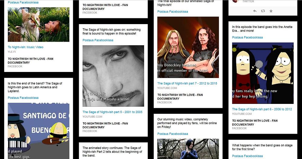 Ylen To Nightwish With Love tehtiin joukkoistamalla. (Kuvakaappaus sarjan sivuilta.)