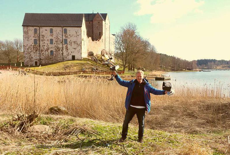 Jouko Tapper on nauttinut historiallisten maisemien kuvaamisesta.