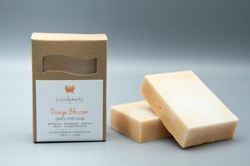 Orange Blossom Goat Milk Soap