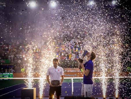 Club Flybondi en el partido: Federer vs Zverev